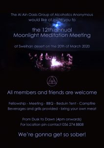 Moonlight  Meditation Meeting
